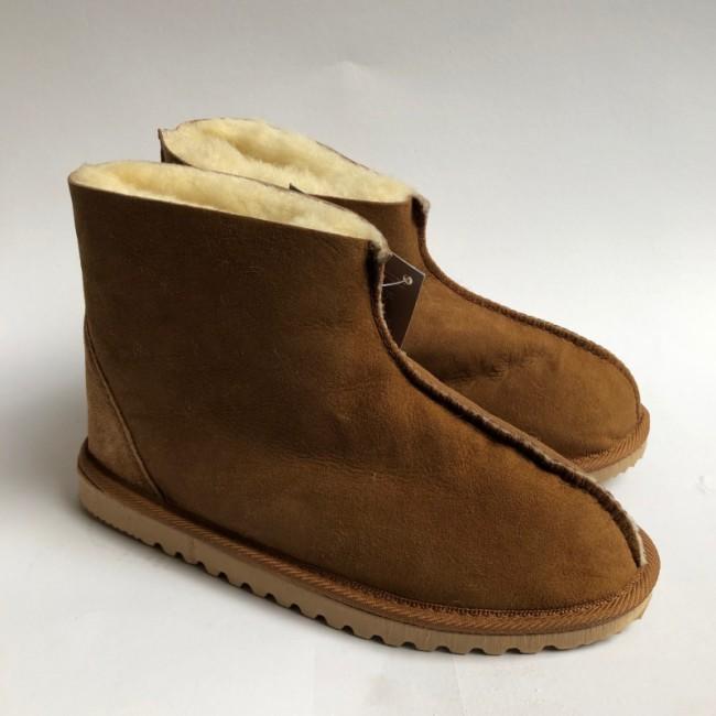 New Zealand Boots Classic house shoe cognac - outlet