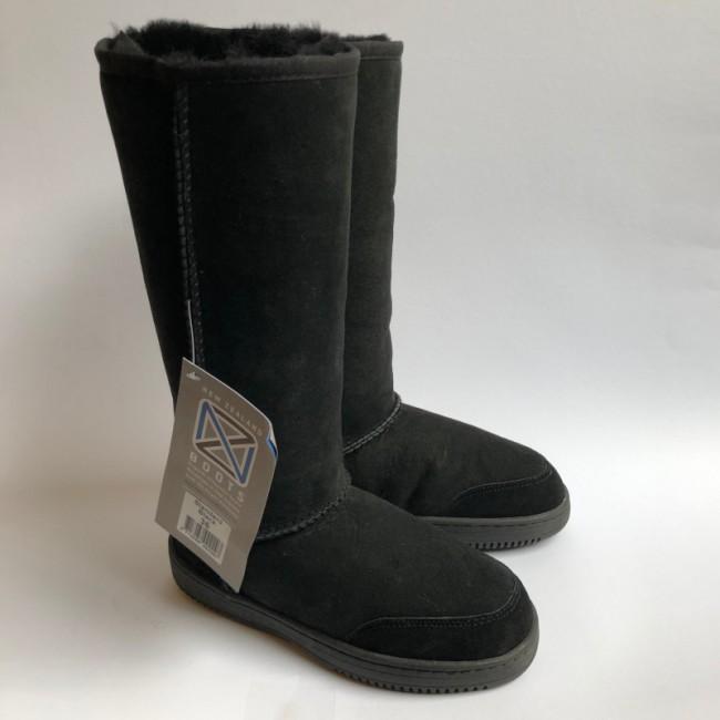 New Zealand Boots Standard black outlet 36