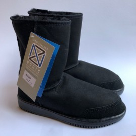 New Zealand Boots Short black outlet 42